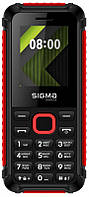 Sigma mobile X-style 18 Track Dual Sim Black Red, КОД: 1689257