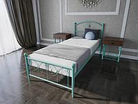 Кровать MELBI Патриция Односпальная 90200 см Бирюзовый КМ-002-01-2бир, КОД: 1421866