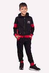 Спортивный костюм для мальчика Angelir Zak 128 см Красный 772531, КОД: 1746405