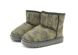 Угги Ok shoes 35 Хаки TH211-16, КОД: 1392547