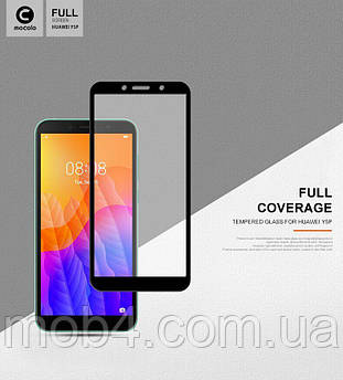 Захисне скло Full Glue для Huawei (Хуавей) Y5P (На весь екран)
