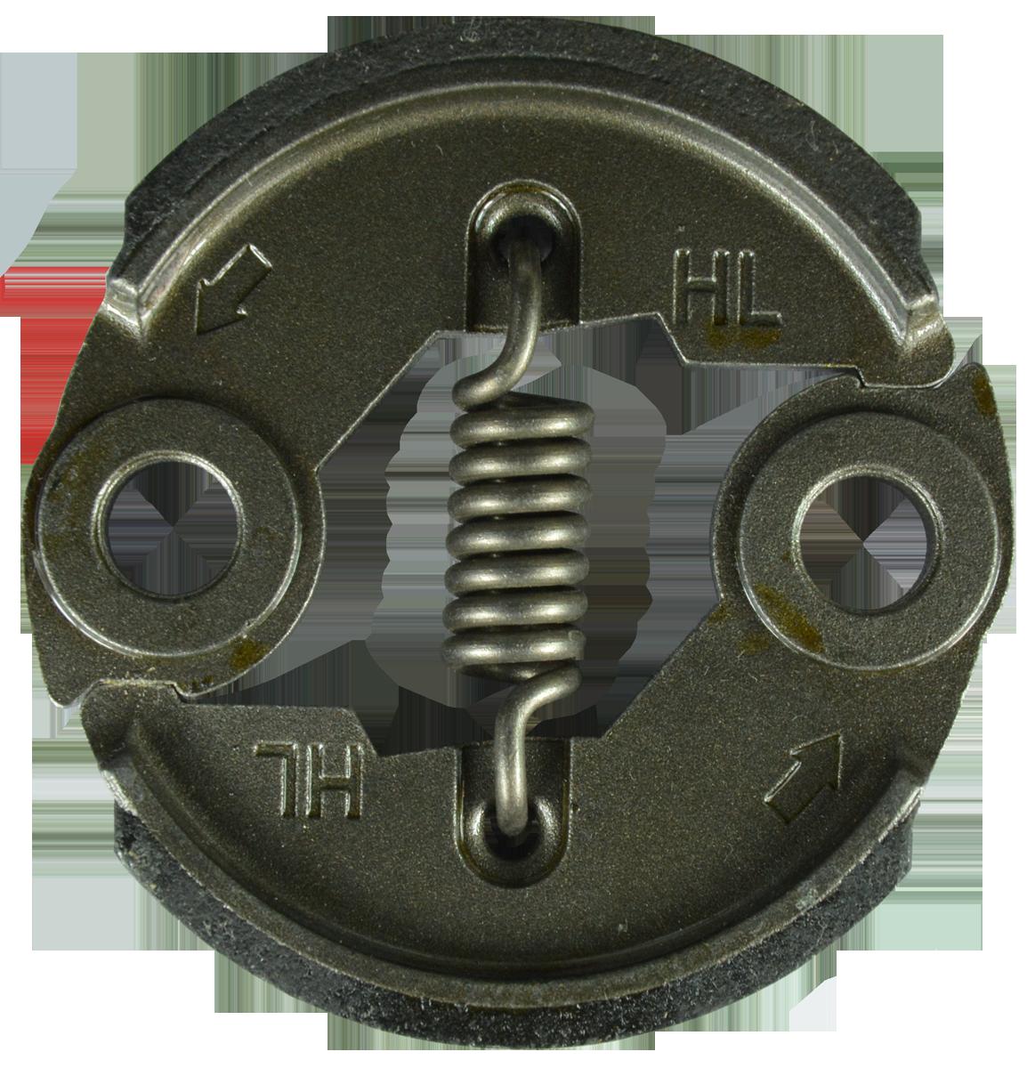 Сцепление косы Ø 40,5 мм (большое), металлическое Iron