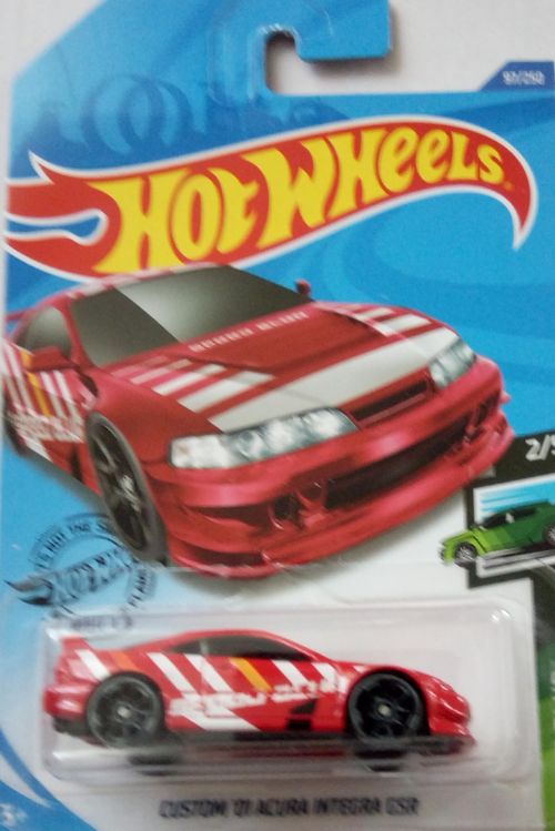 Машинка Hot Wheels 2020 Custom '01 Acura Integra GSR