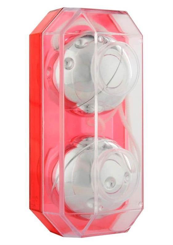 Вагінальні кульки - Plastic Balls Silver