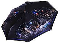 Сатиновый зонт Три Слона Ночной мегаполис ( полный автомат ) арт. L3845-8, фото 1
