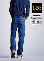 Джинсы мужские Lee®2008944 (Pepper Stone) /13.5 унций/ Прямые /100% хлопок