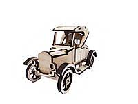 Деревяний конструктор 3D пазл V.I.T. Ford C-018 95 елементів, КОД: 1580841