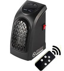 Портативный мини электрообогреватель handyheater Керамический  400W  с Пультом Черный HbP045632, КОД: 1375579
