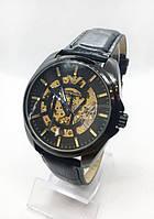Мужские механические часы Emporio Armani  (Эмпорио Армани), черные ( код: IBW407B ), фото 1