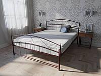 Кровать MELBI Селена Двуспальная 140200 см Бордовый лак КМ-022-02-8бор, КОД: 1429343