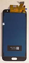 Модуль (дисплей+сенсор)Samsung J530F Galaxy J5(2017),J530F/DS,J530Y/DS (TFT З РЕГУЛЮВАННЯМ ЯСКРАВОСТІ) золотий, фото 3