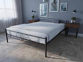 Кровать MELBI Лара Люкс Двуспальная 120х190 см Черный, КОД: 1389141
