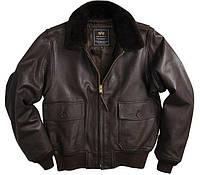 Куртка Alpha Industries G-1 Leather 3XL Brown, КОД: 1313269