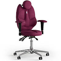 Кресло KULIK SYSTEM TRIO Ткань с подголовником без строчки Розовый 14-901-BS-MC-0508, КОД: 1668750