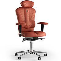 Кресло KULIK SYSTEM VICTORY Антара с подголовником без строчки Морковный 8-901-BS-MC-0309, КОД: 1668948