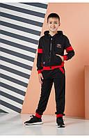 Спортивный костюм для мальчика Angelir Zak 134 см Красный 772523, КОД: 1746407