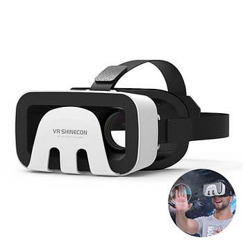 Стерео очки виртуальной реальности Shinecon VR G03B 3D для iPhone Android видео шлем трехмерное 3D видео