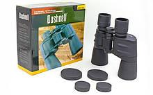 Бинокль BUSHNELL 10х50, пластик, стекло, PVC-чехол, черный (AXT1151)