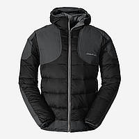 Куртка Eddie Bauer Mens Downlight Hooded Field Jacket BLACK L Черный 0355BK, КОД: 1700523