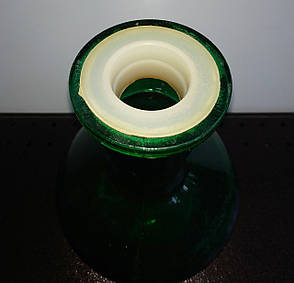 Б/У Колба для кальяна 23 см зеленая, фото 2