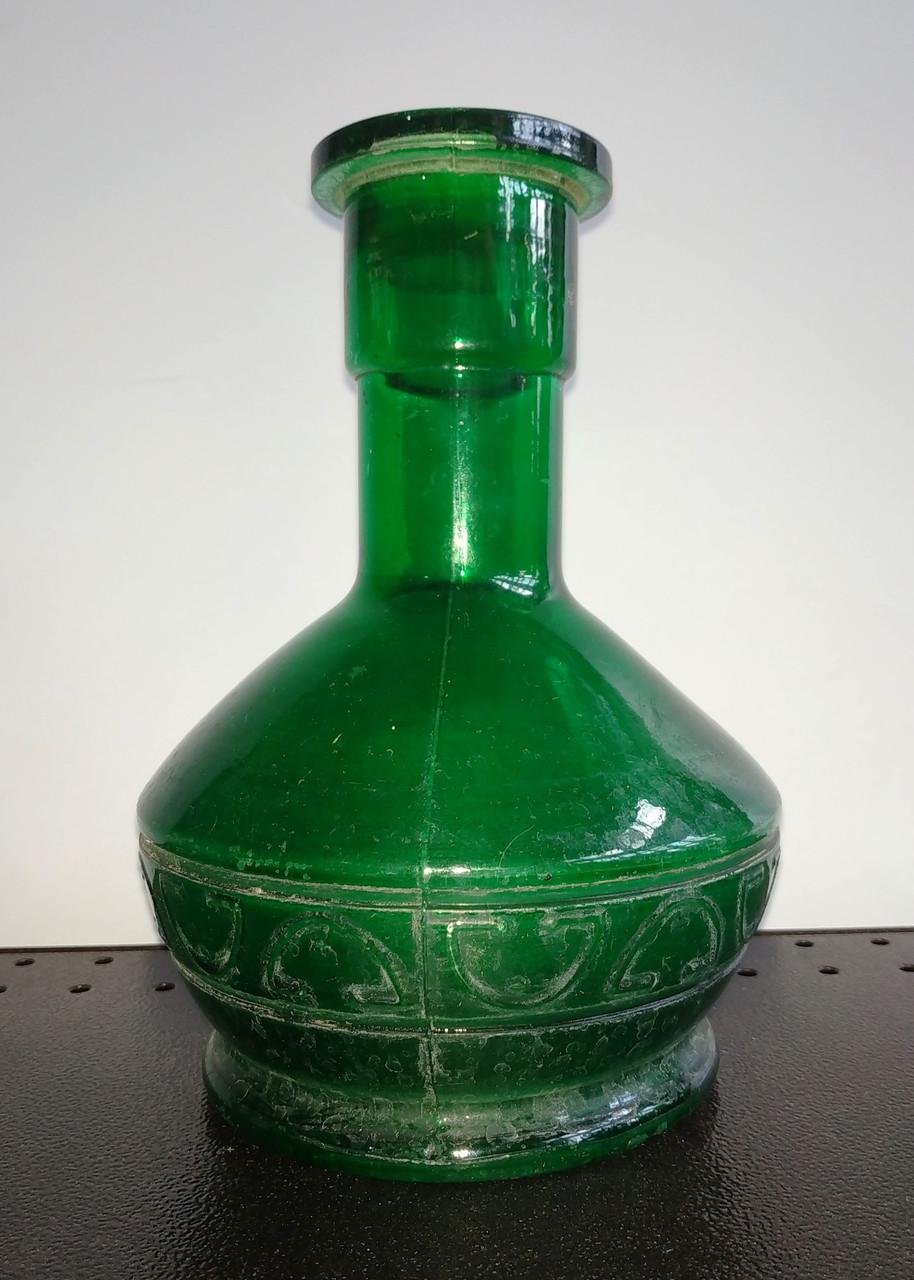 Б/У Колба для кальяна 23 см зеленая