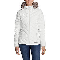 Куртка Eddie Bauer Womens Slate Mountain Down Jacket SNOW XS Белый 4177SN-XS, КОД: 1212880