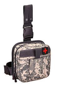 Сумка тактическая Protector Plus EDC А017 Пиксельный камуфляж new69205, КОД: 1622345