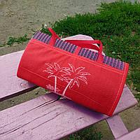 Подстилка коврик для пляжа моря пикника на землю PROFI 170х89см красный С 36528 (СПО I7 77878 1)