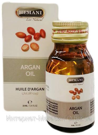 Аргановое масло Хемани Argan Oil Hemani 30 мл. Пакистан