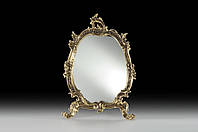 Настольное зеркало VIRTUS Mirror Flowers 27 х 20 см Бронзовый 4876, КОД: 1622894