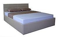 Кровать MELBI Джесика Двуспальная 160х200 см с подъемным механизмом Бежевый KS-022-02-4беж, КОД: 1670532