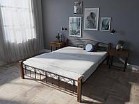 Кровать MELBI Элизабет Двуспальная 180190 см Бордовый лак КМ-005-02-5бор, КОД: 1398771