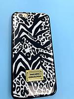 """Iphone 6 -  черный чехол накладка с абстрактным принтом  """"MACBETH COLLECTION"""""""