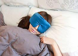 Маска для сна Deco шелковая Sleepmaster 360 Бирюзовый 1025-02bl, КОД: 1813040