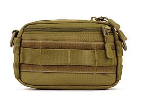Подсумок на рюкзак Protector Plus EDC A005 Coyote new66842, КОД: 1622320