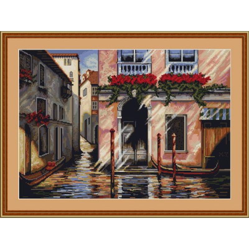 Наборы для вышивания крестом Luca S Пейзажи Утро в Венеции