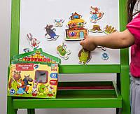 Игра настольная Vladi Toys Магнитный театр. Теремок VT3206-25, КОД: 1317835