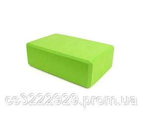 Блок для йоги MS 0858-2 (green)