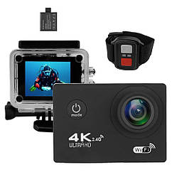 Экшн-камера VOLRO B5R с пультом Black vol-4, КОД: 1678851