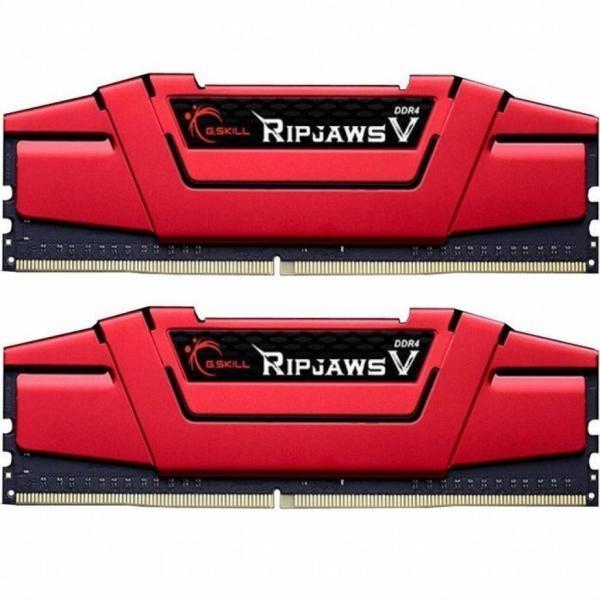 Модуль памяти для компьютера DDR4 16GB (2x8GB) 3000 MHz Ripjaws V G.Skill (F4-3000C15D-16GVRB)