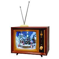 Новогодний телевизор BST 23 см Коричневый 170049, КОД: 1404057