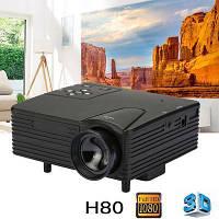 Мини проектор портативный мультимедийный Led Projector W662 H80М
