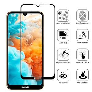 Защитное стекло 5D для Huawei Y6 2019 / Honor 8a защитное стекло на хуавей y6 2019 хонор 8а черное