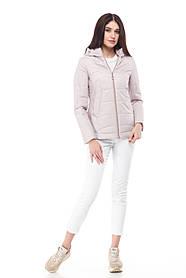 Демисезонная женская куртка ORIGA Амина 46 Пудра, КОД: 1341559