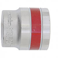 Головка торцевая МТХ 32 мм двенадцатигранная CrV под квадрат 1 2 хромированная 136989, КОД: 1696122