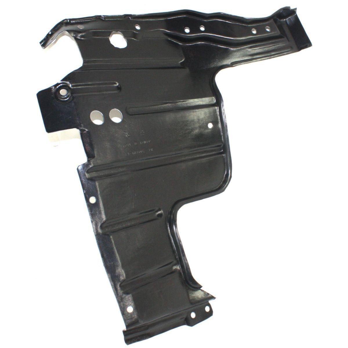 Защита двигателя пластиковая Mitsubishi Lancer 9 (04-08), правая - большая (FPS) MR539599
