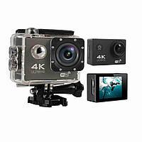 Action camera DVR SPORT S2 Wi Fi waterprof 4K Экшн камера Dvr Sport S2 Водонепронецаемая спортивная камера, фото 1