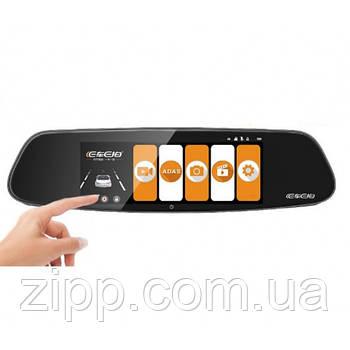 Автомобільний Відеореєстратор DVR A99, 2 камери дзеркало