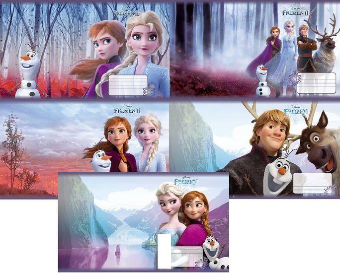 Тетрадь школьная в клеточку 12 листов Тетрада, Frozen Disney, серия Холодное сердце