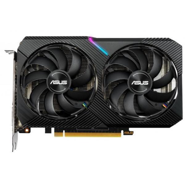 Видеокарта ASUS GeForce RTX2070 8192Mb DUAL OC MINI (DUAL-RTX2070-O8G-MINI)